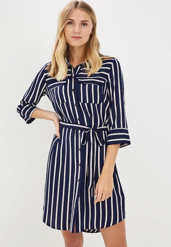 Купить Платье Dorothy Perkins, DO005EWBJRZ5, синий, Весна-лето 2018