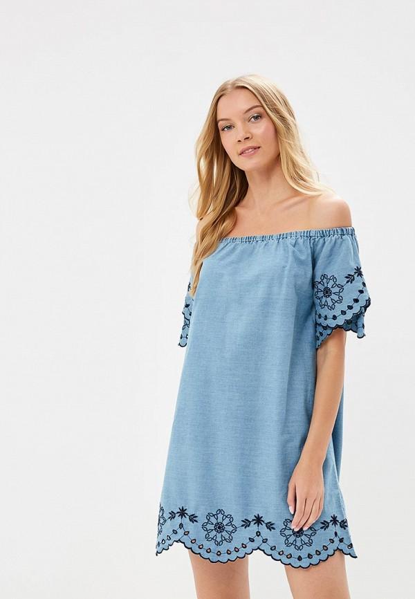 Купить Платье Dorothy Perkins, DO005EWBOPV3, синий, Весна-лето 2018