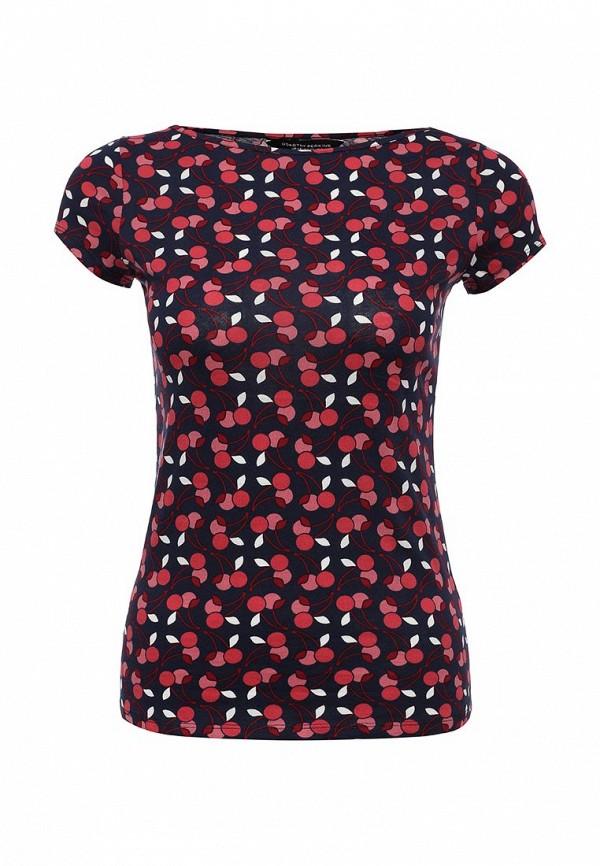 Купить женскую футболку Dorothy Perkins синего цвета