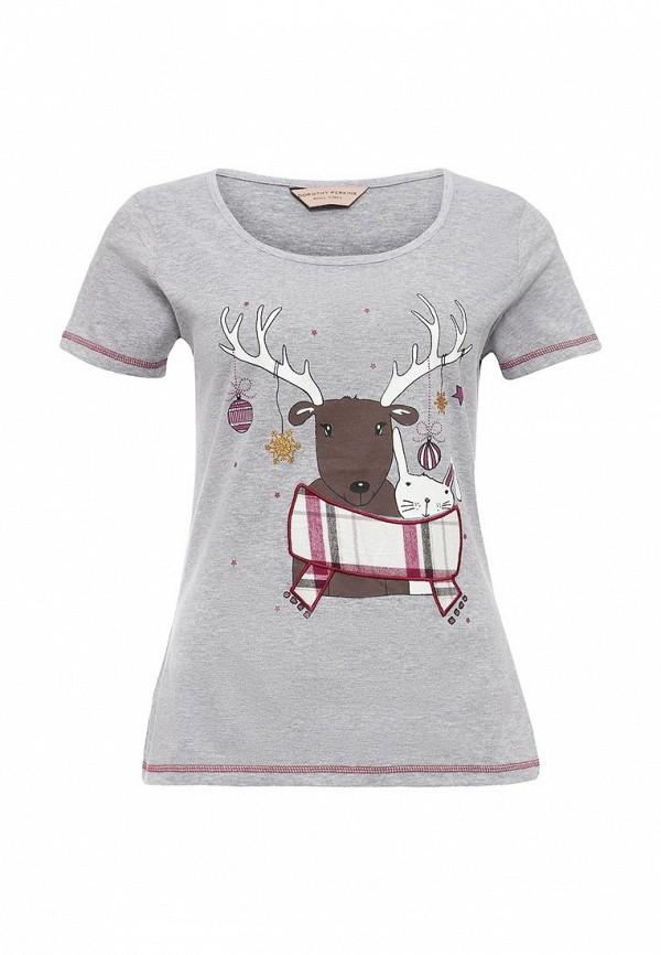 Домашняя футболка Dorothy Perkins (Дороти Перкинс) 33113767