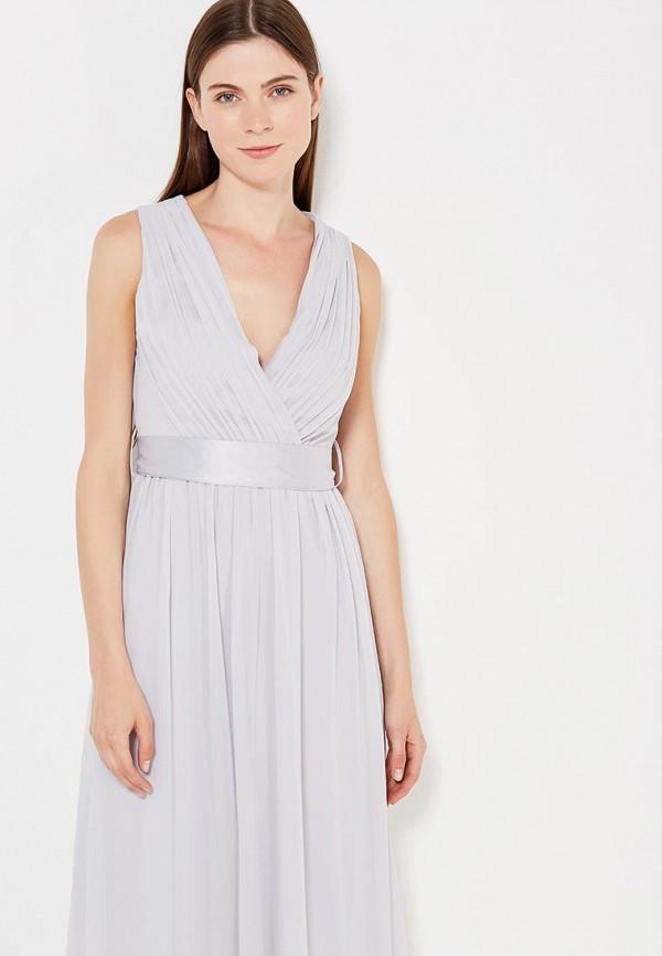 Фото 2 - женское платье Dorothy Perkins серого цвета