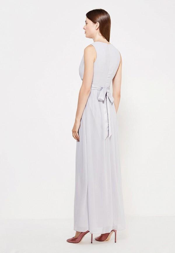 Фото 3 - женское платье Dorothy Perkins серого цвета