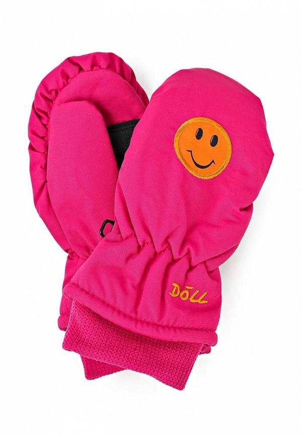 Варежки Doll. Цвет: розовый