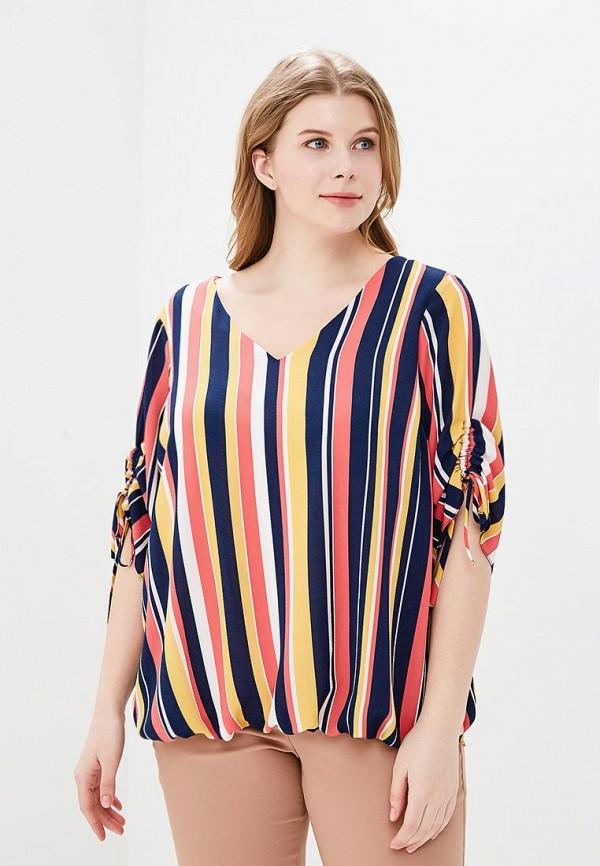 Купить Блуза Dorothy Perkins Curve, DO029EWBAIR7, разноцветный, Весна-лето 2018