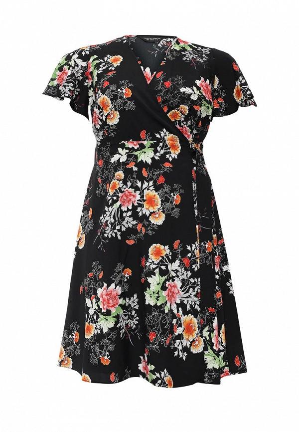 Платье Dorothy Perkins Curve Dorothy Perkins Curve DO029EWMTE35 топ dorothy perkins curve dorothy perkins curve do029ewvho21