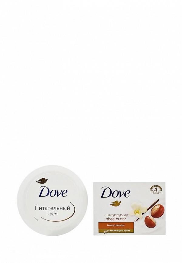 Набор Dove с любовью для Вас крем-мыло 100 гр, крем питательный 75 мл я самая подарочный набор салонный уход крем маникюр 75 мл крем педикюр 75 мл