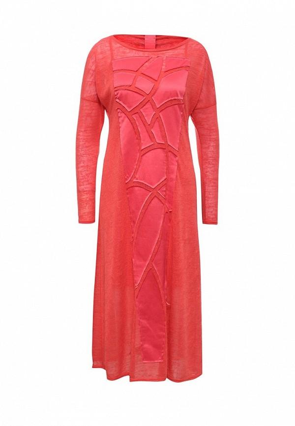 Вязаное платье D.VA Крем 07
