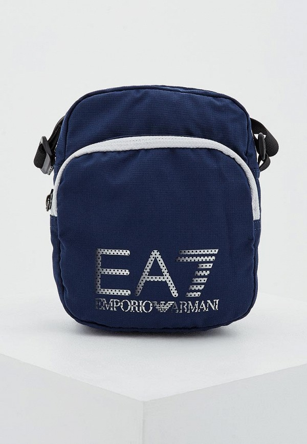 Фото - женскую сумку EA7 синего цвета