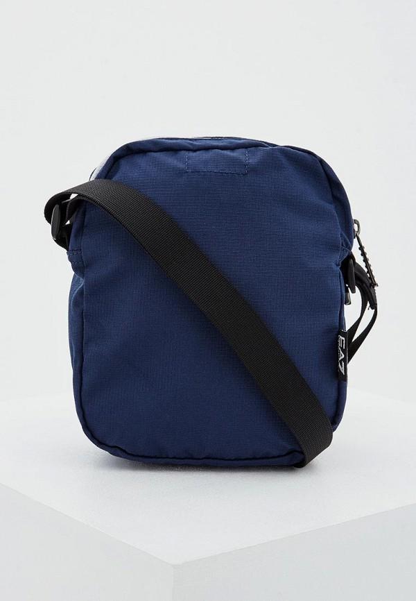 Фото 2 - женскую сумку EA7 синего цвета