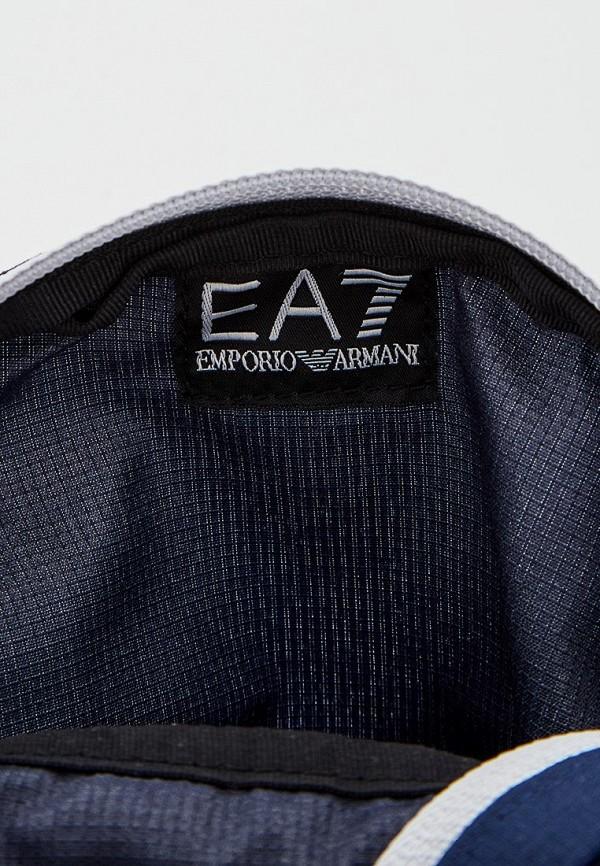 Фото 3 - женскую сумку EA7 синего цвета