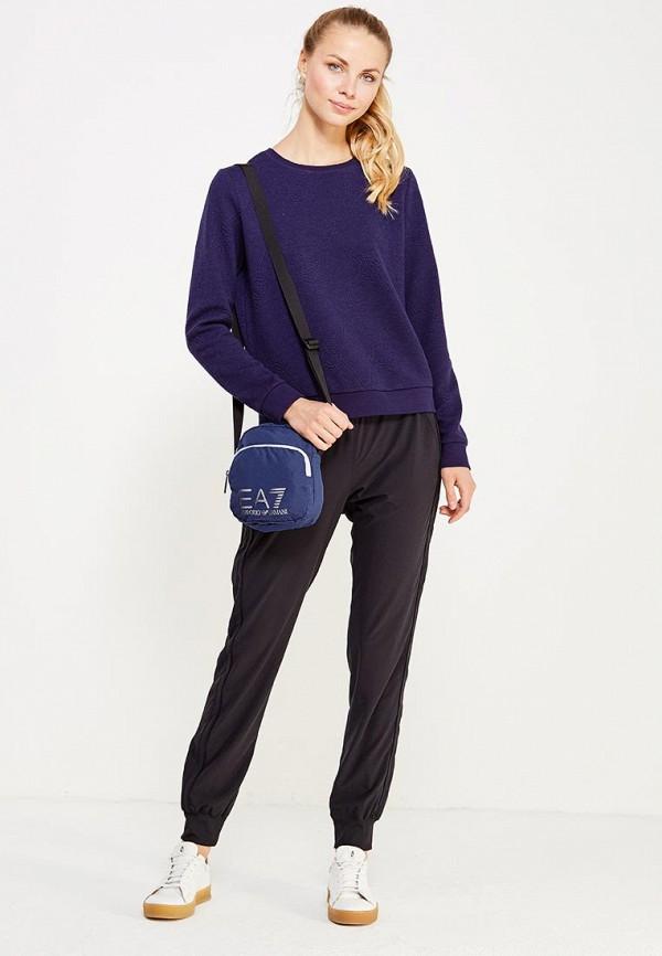 Фото 4 - женскую сумку EA7 синего цвета
