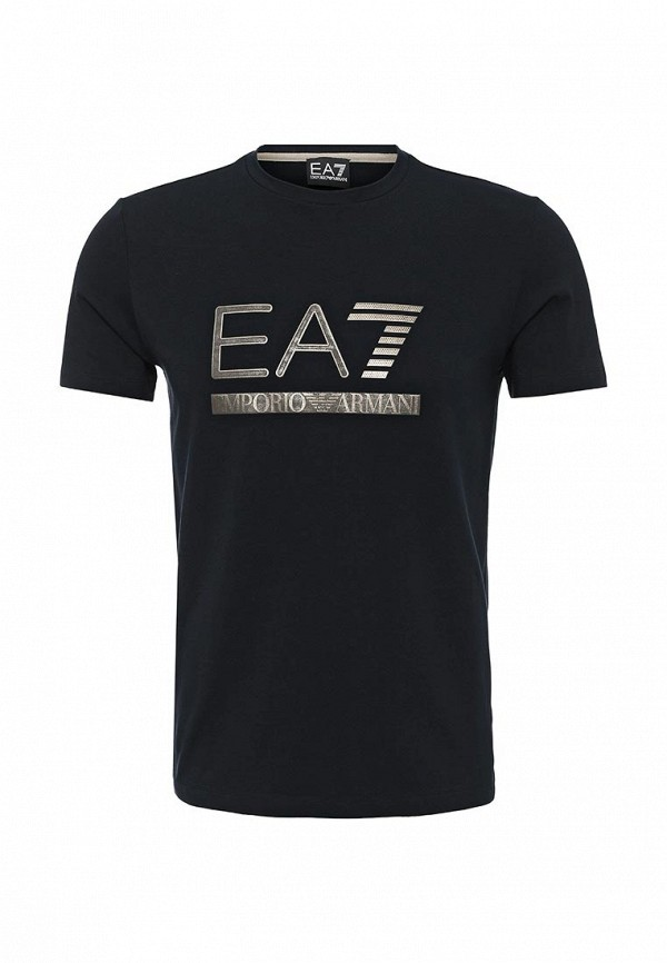 Футболка с надписями EA7 6XPTA5 PJ18Z