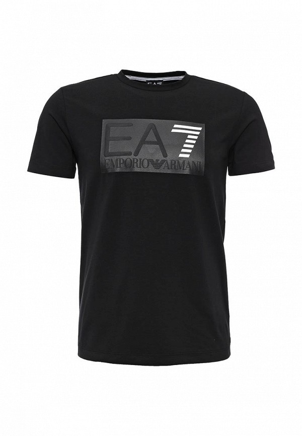 Футболка с надписями EA7 6XPT94 PJ20Z