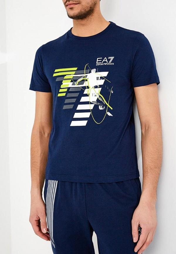 Футболка EA7 EA7 EA002EMZUG58 футболка ea7 3zpt66 pjl8z 2805