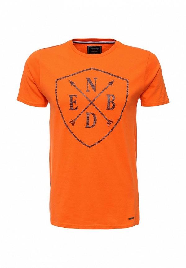 Футболка с надписями E-Bound 123533.H.TS.VX