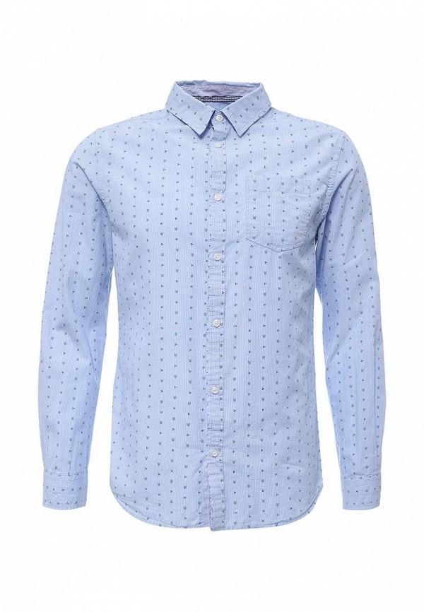Купить мужскую рубашку E-Bound голубого цвета