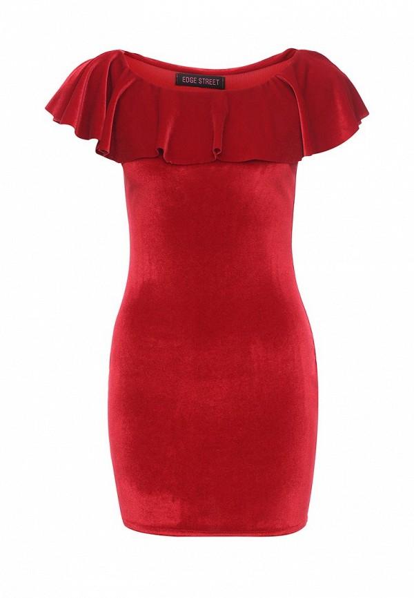 Платье Edge Street Edge Street ED008EWNOR64 платье edge street edge street ed008ewlqq77