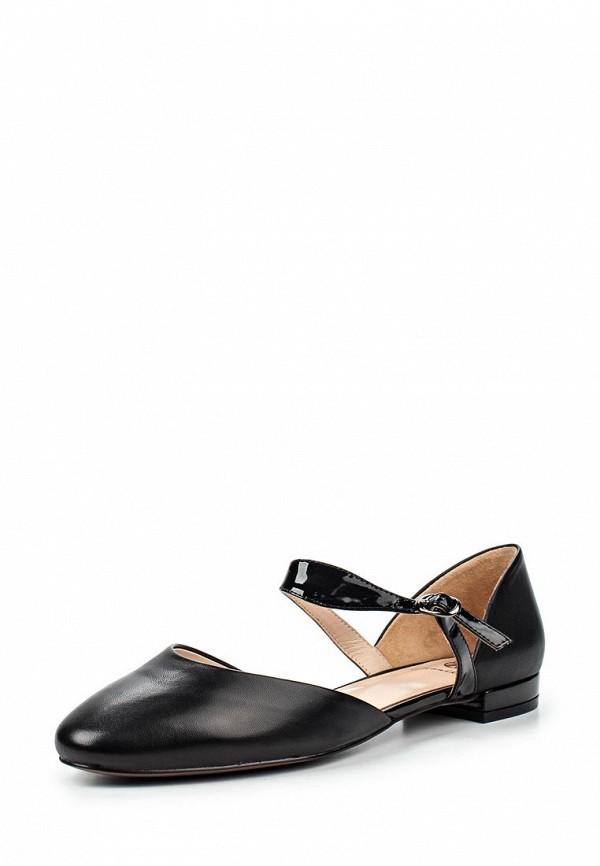 Туфли на плоской подошве Ekonika EN1719-02 black-17L
