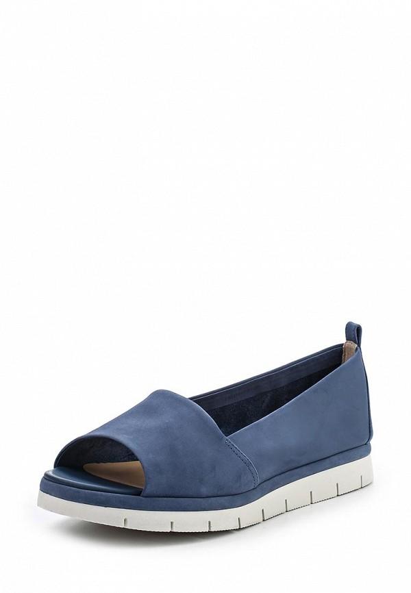 Туфли на плоской подошве Ekonika EN2499-01 blu-17L