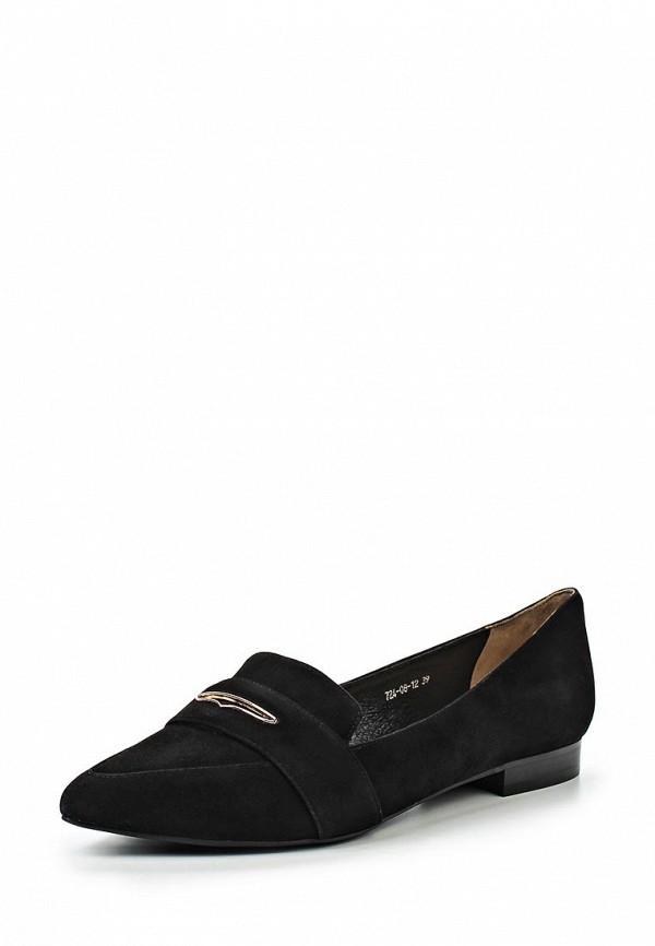 Туфли на плоской подошве El'Rosso 724-08-12
