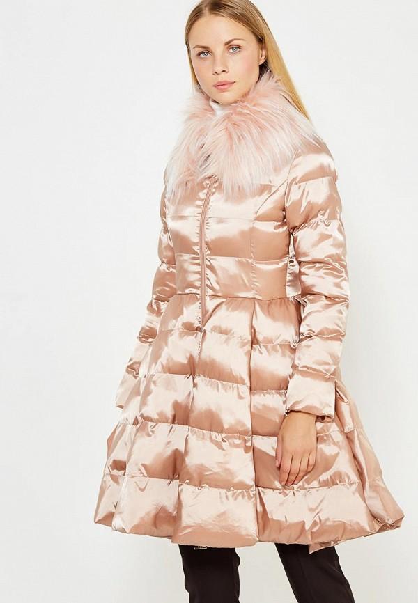 Куртка утепленная Elisabetta Franchi Elisabetta Franchi EL037EWUCW28 цена 2016
