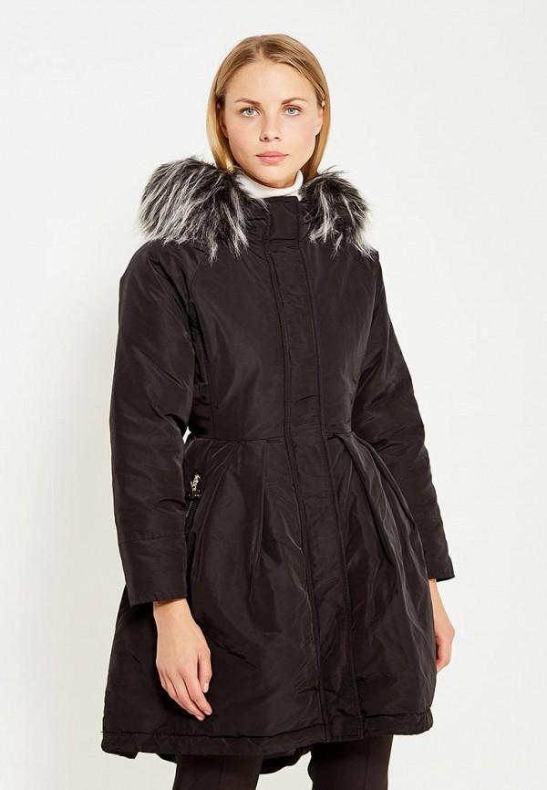 Куртка утепленная Elisabetta Franchi Elisabetta Franchi EL037EWUCW29 цена 2016