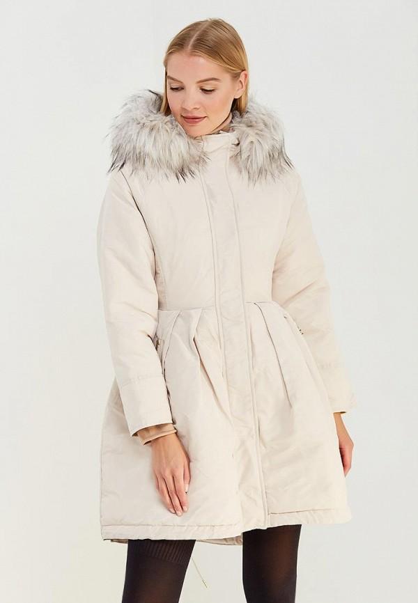 Куртка утепленная Elisabetta Franchi Elisabetta Franchi EL037EWUCW30 цена 2016