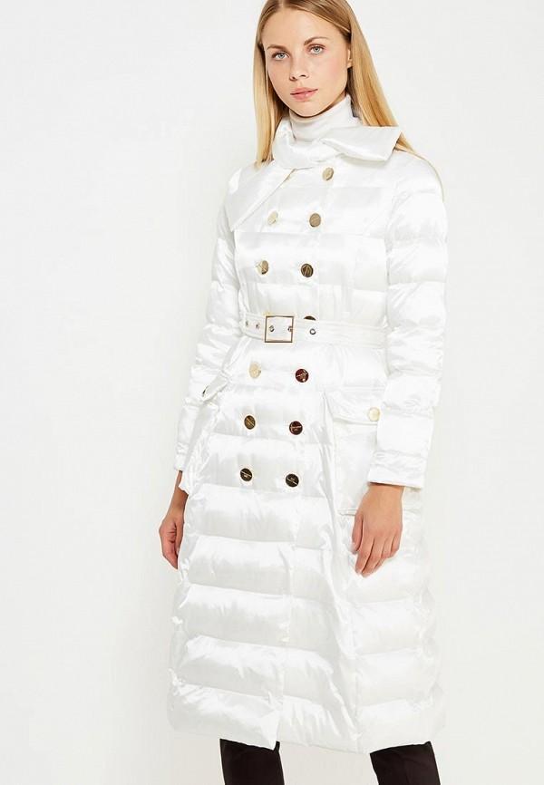 Куртка утепленная Elisabetta Franchi Elisabetta Franchi EL037EWUCW32 цена 2016