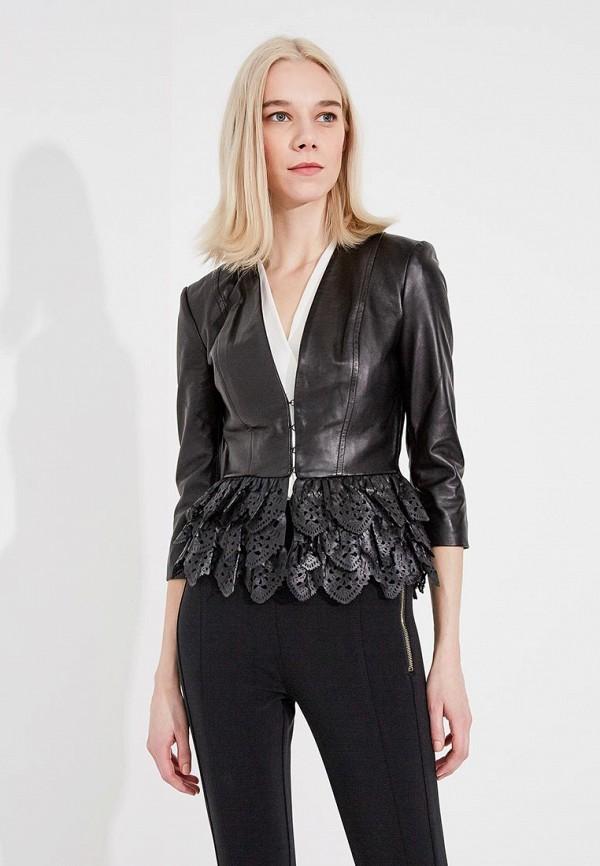 купить Куртка кожаная Elisabetta Franchi Elisabetta Franchi EL037EWYRY30 по цене 83399 рублей
