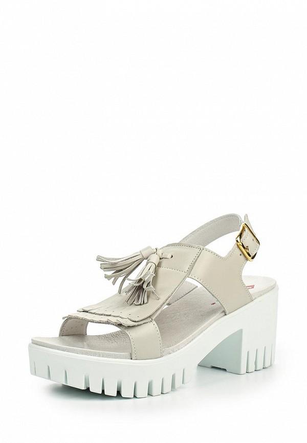 Босоножки на каблуке El Tempo PP248_5496_WHITE