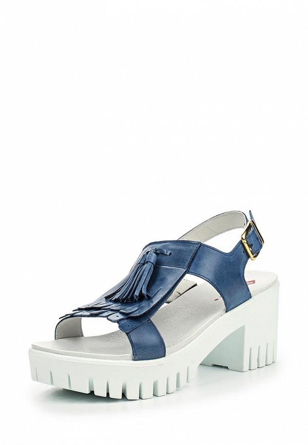 Босоножки на каблуке El Tempo PP248_5496_BLUE