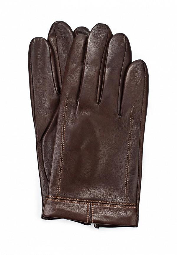 Мужские перчатки Eleganzza F-IS3149 d.brown