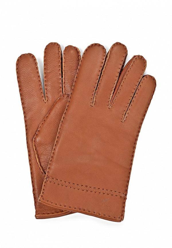 Мужские перчатки Eleganzza HS630M cognac