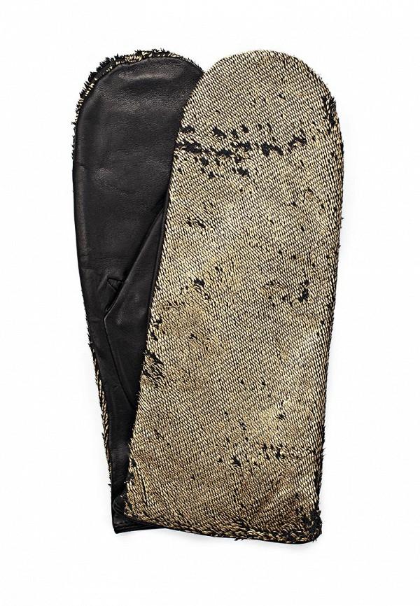 Женские варежки Eleganzza IS09805/black/gold