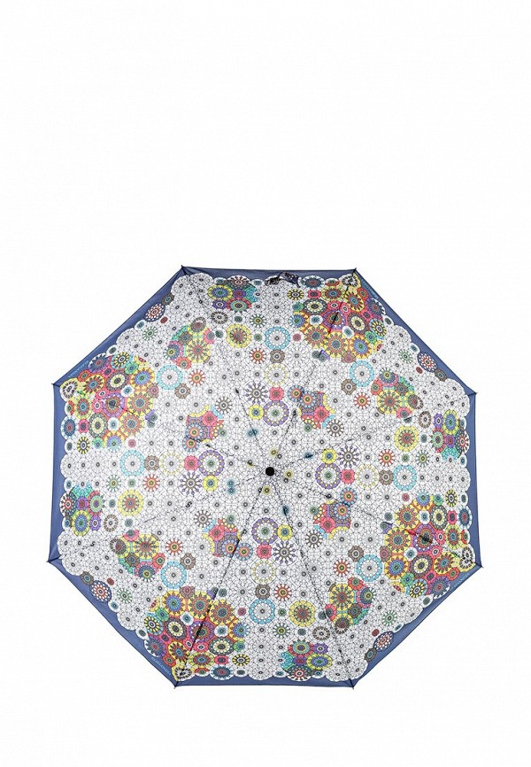 Зонт складной Eleganzza Eleganzza EL116DWISA91 зонт складной eleganzza eleganzza el116dmxid64