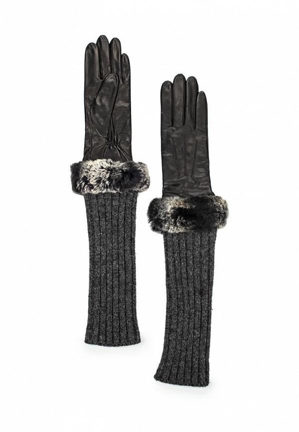 Женские перчатки Eleganzza IS01220 black/grey