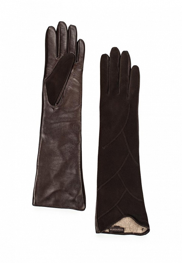 Перчатки Eleganzza HP02110 d.brown