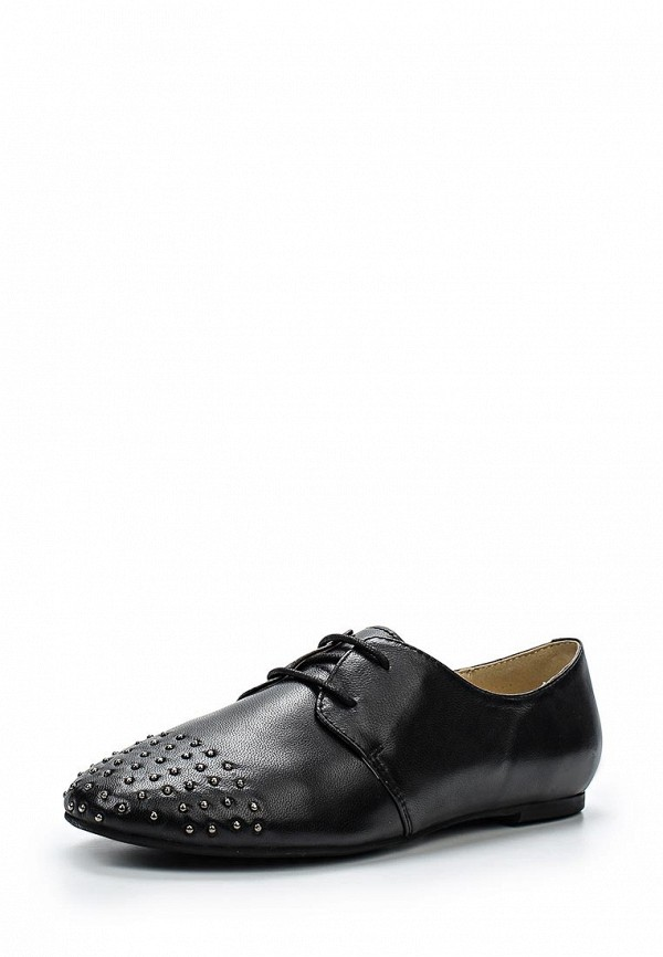 Женские черные осенние кожаные ботинки