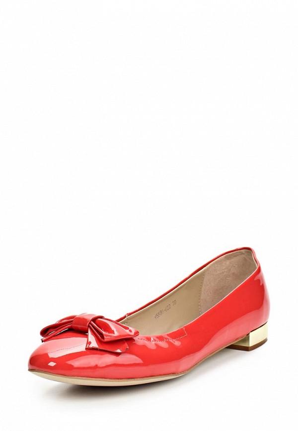 Туфли Elmonte. Цвет: красный