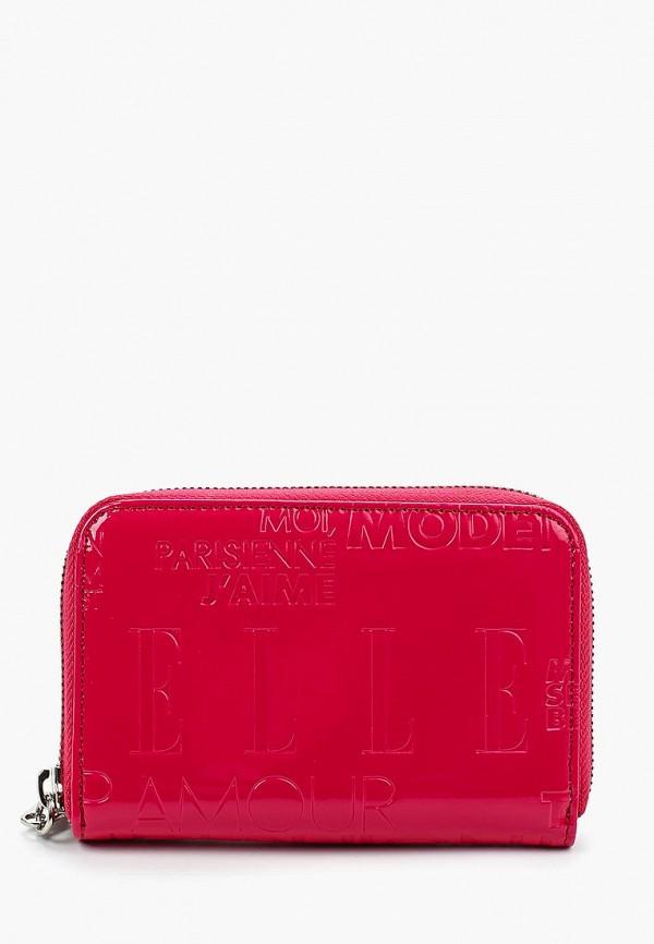 Кошелек Elle Elle EL762BWBFYD6 пальто elle fortuna fashion цвет серый розовый
