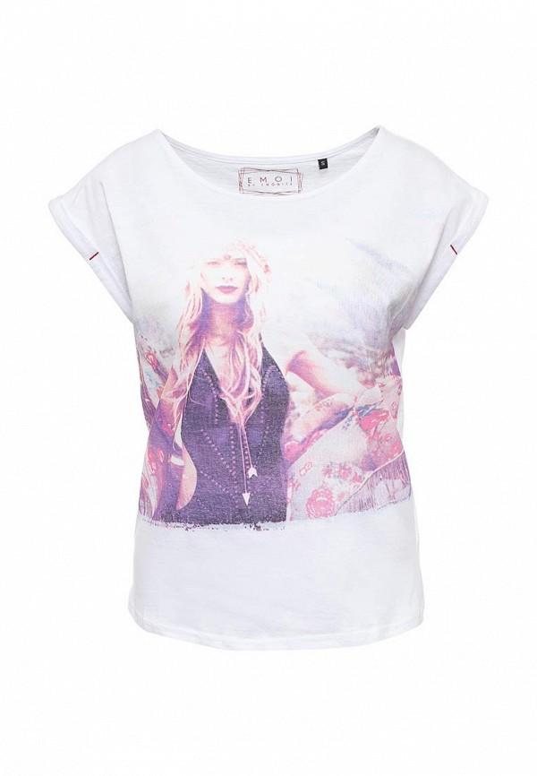 Купить женскую футболку Emoi белого цвета