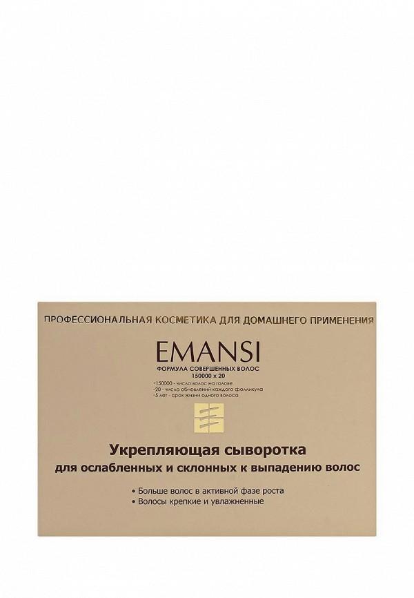 Купить Сыворотка для волос Emansi, укрепляющая для ослабленных и склонных к выпадению волос (несмываемая), Формула совершенных волос = 150000х20, 10 мл х 10, EM014LWXIQ26, Весна-лето 2018