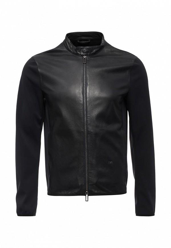 Куртка кожаная Emporio Armani 2018