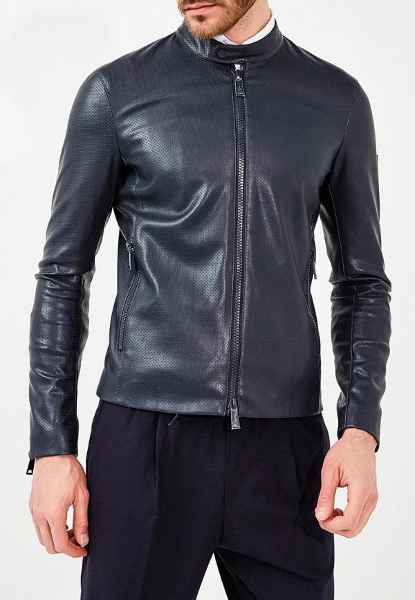 где купить Куртка кожаная Emporio Armani Emporio Armani EM598EMZWG49 по лучшей цене