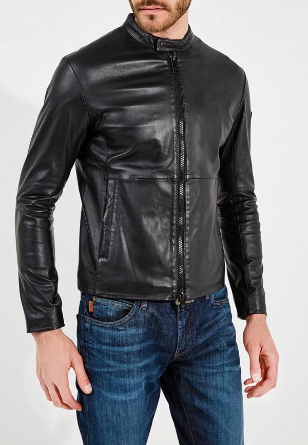 где купить Куртка кожаная Emporio Armani Emporio Armani EM598EMZWG53 по лучшей цене