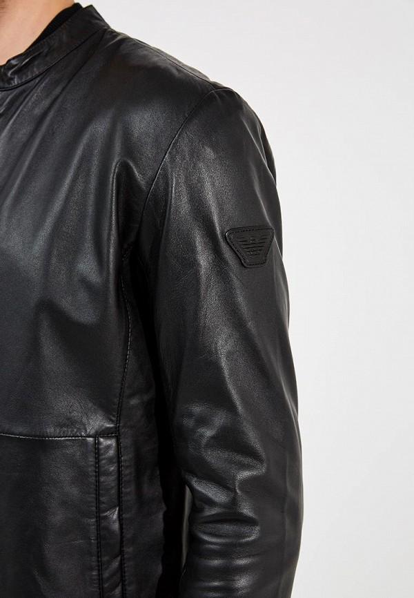 Кожаные куртки emporio armani мужские