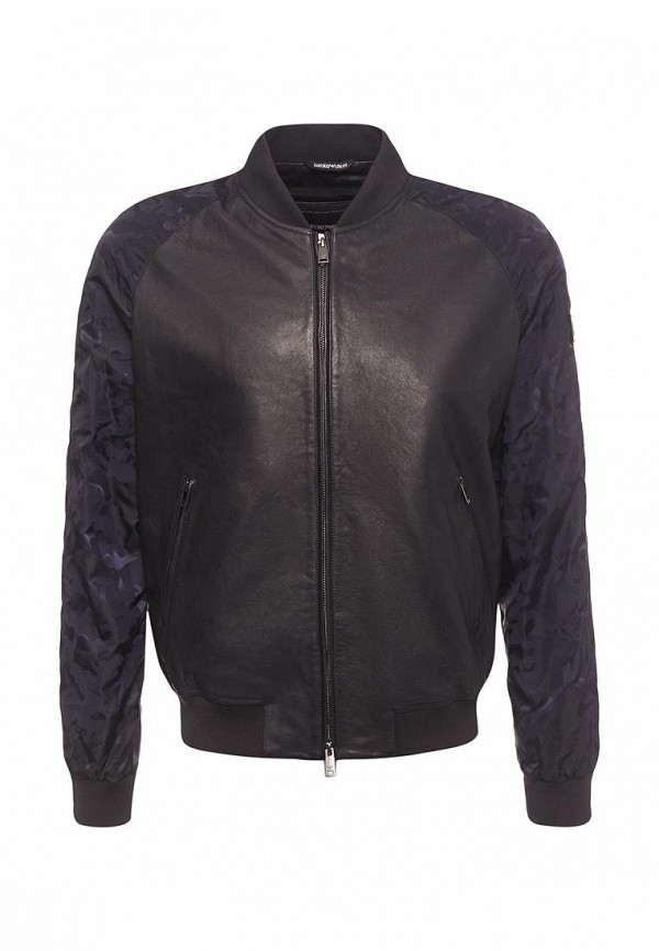 Куртка кожаная Emporio Armani Emporio Armani EM598EMZWG55 мужская armani куртка