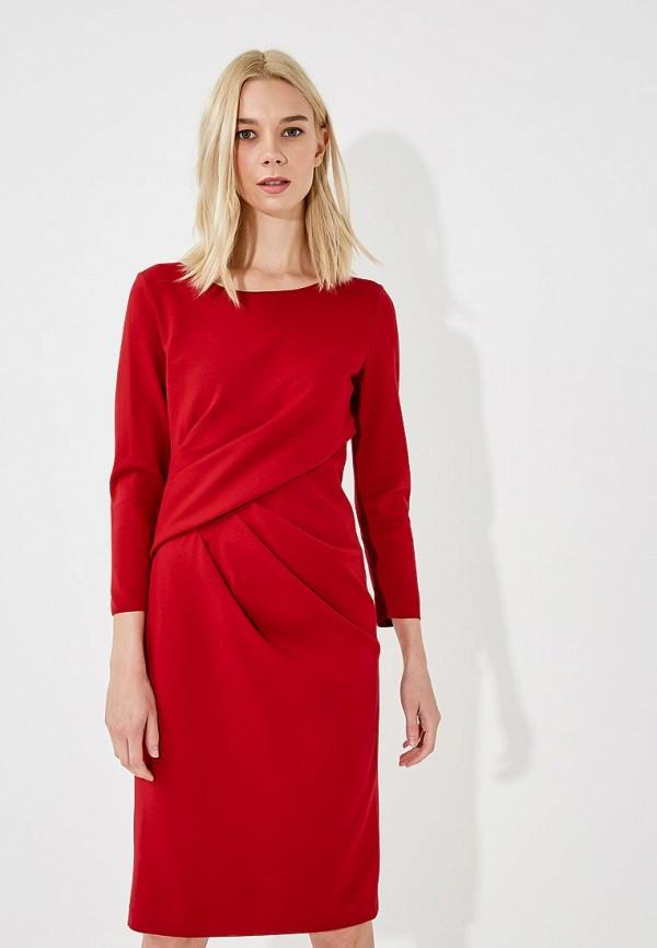 Купить Платье Emporio Armani, EM598EWBLNM7, красный, Осень-зима 2018/2019