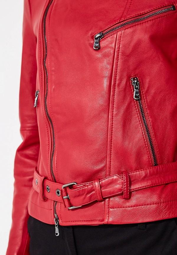 Фото Куртка кожаная Emporio Armani. Купить с доставкой