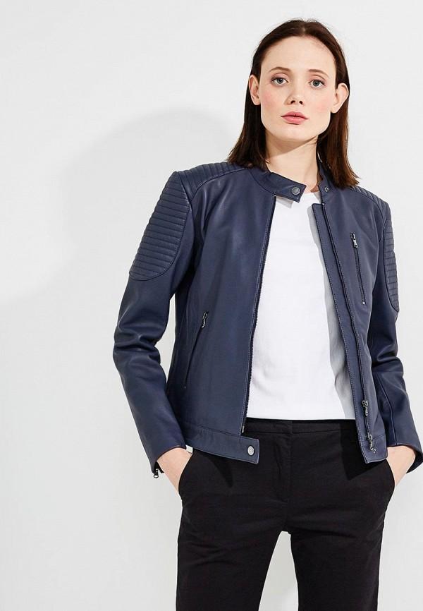 где купить Куртка кожаная Emporio Armani Emporio Armani EM598EWZWC77 по лучшей цене